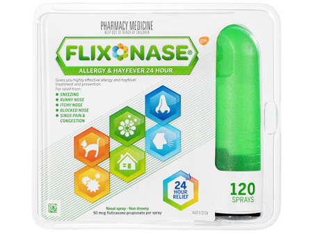 Flixonase Allergy & Hayfever 24 Hour Nasal Spray 120D