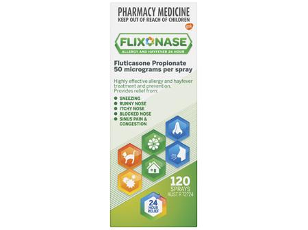 Flixonase Nasal Spray Non Drowsy 120 Pack