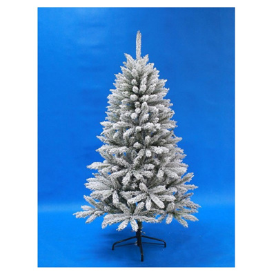 Flocked Douglas Fir Tree Slim - 1.5m