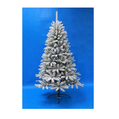 Flocked Douglas Fir Tree Slim - 1.8m