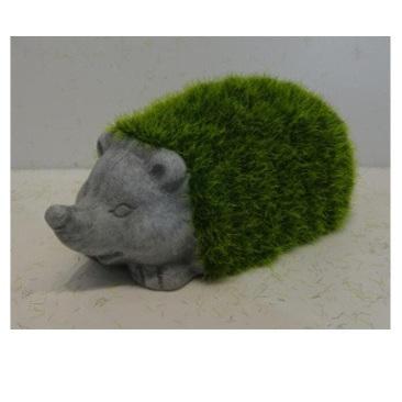 Flocking Ceramic Hedgehog
