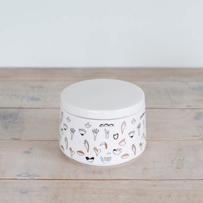 Flora Sugar Canister