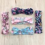 Floral Headband W/ Bow