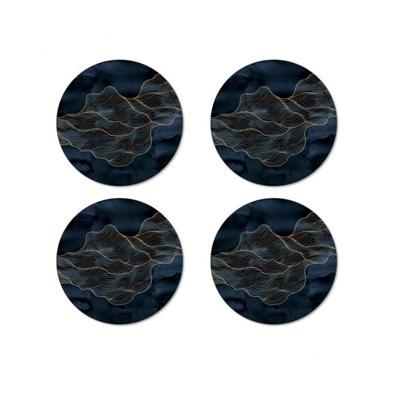 Flow Round Coasters Set of 4