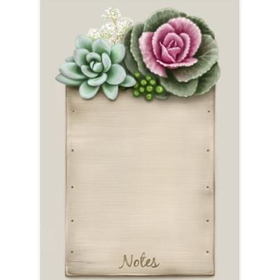Flowering Kale Notepad