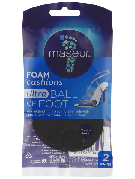 Footcare Ultra Ball of Foot Foam Cushions 2 Pairs