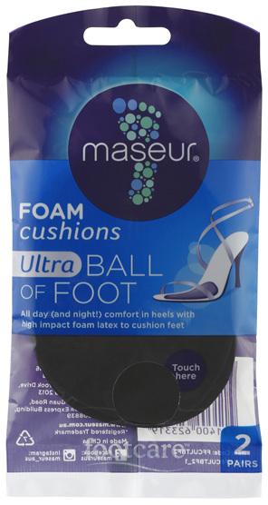 Footcare Ultra Ball of Foot Foam Cushions 2 Pairs