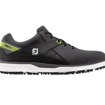 Footjoy 2020 Pro SL Golf Shoe - Black/Lime #53813W