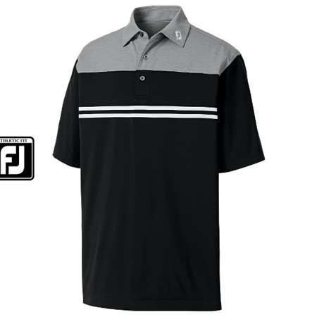 Footjoy Athletic Fit Heather Block Lisle #91707