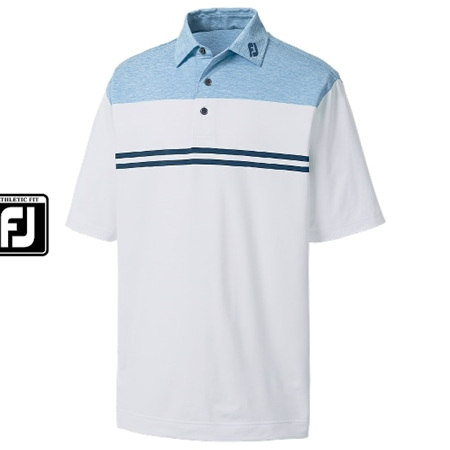 Footjoy Athletic Fit Heather Colour Block Lisle #91704