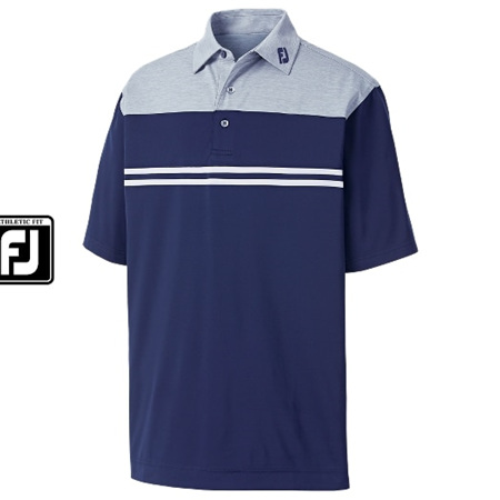 Footjoy Athletic Fit Heather Colour Block Lisle #91705