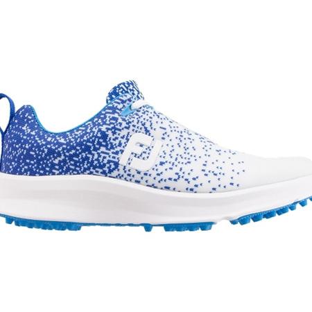 Footjoy Ladies Leisure Golf Shoe White/Blue #92923a