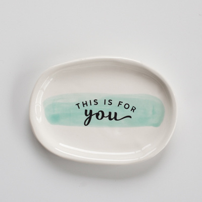 For You Platter - Mint