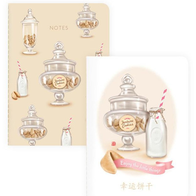 Fortune Cookies & Milk Notebooks