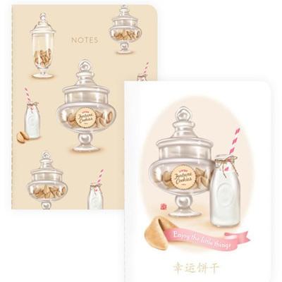 Fortune Cookies & Milk Notebooks