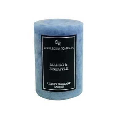 Fragrant Mottle Candle - Mango&Pineapple - 10cmh
