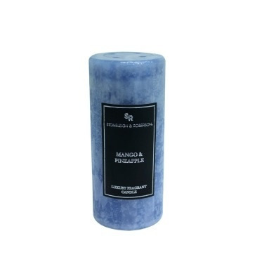 Fragrant Mottle Candle - Mango&Pineapple - 15cmh