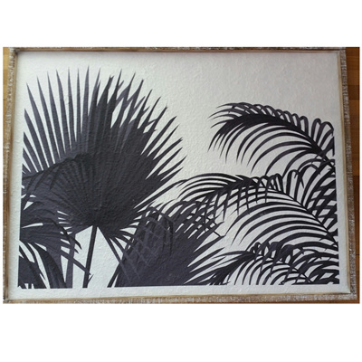 Framed Palm Tarpa