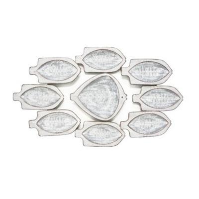 Frankie Fish Wall Art - White Wash - 104x61cmh