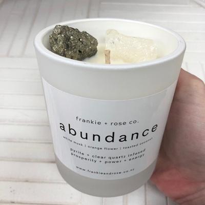 Frankie & Rose Candle - Abundance
