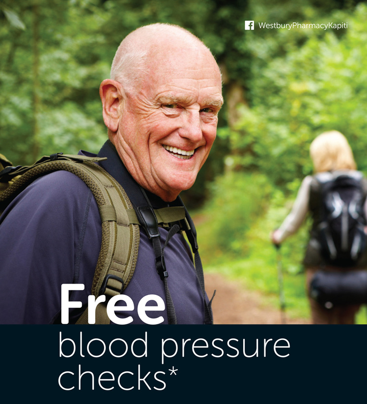 Free blood pressure checks available until the end of June