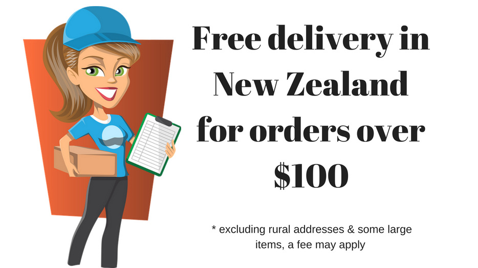 Free delivery for orders over $100
