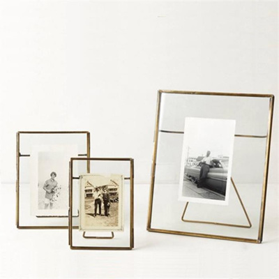 Freestanding Brass Frame - Large