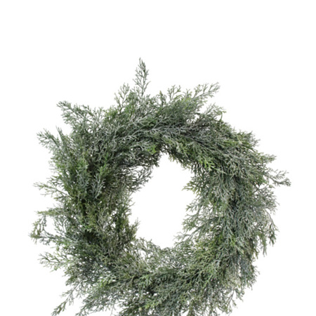 Frosted Pine Wreath 60cm