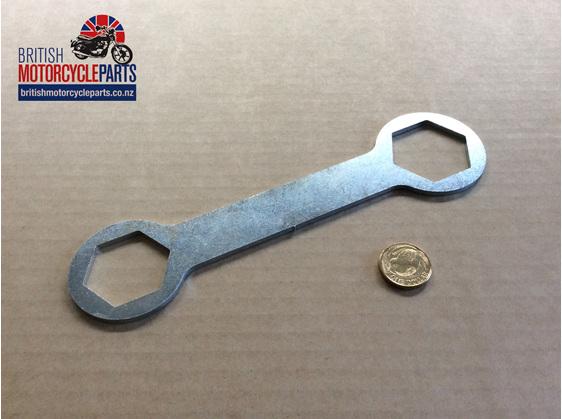 FTNS.1 Fork Top Nut Spanner - British Motorcycle Parts Ltd - Auckland NZ