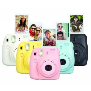 FUJIFILM INSTAX MINI 8 BUNDLE YELLOW CAMERA