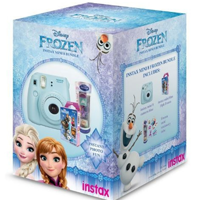 FUJIFILM INSTAX MINI 8 FROZEN BUNDLE