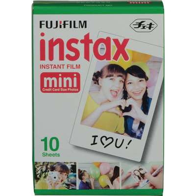 FUJIFILM INSTAX MINI FILM 10PK WHITE