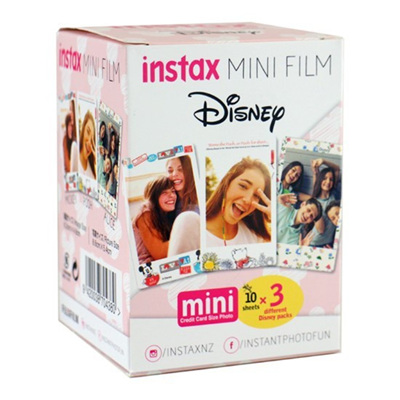 FUJIFILM INSTAX MINI FILM 30 PK DISNEY
