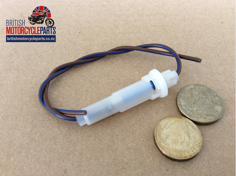 Fuse Holder Complete With Brown/Blue Wire - British Motorcycle Parts Ltd NZ