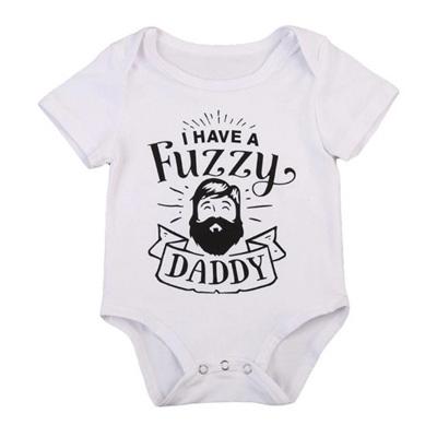 Fuzzy Daddy Romper