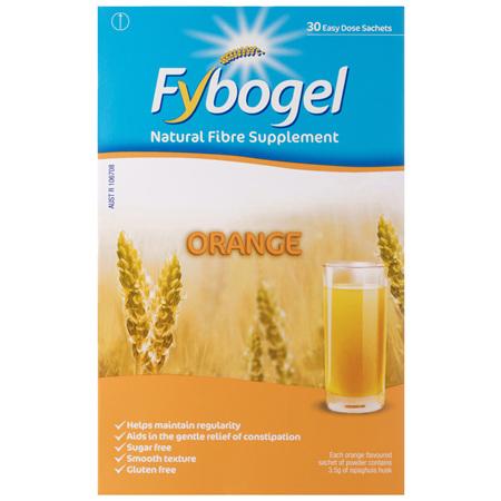 Fybogel Fibre Supplement Sachets Orange 30 Pack