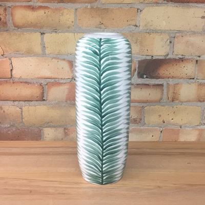 Galatee Ceramic Vase - Leaf