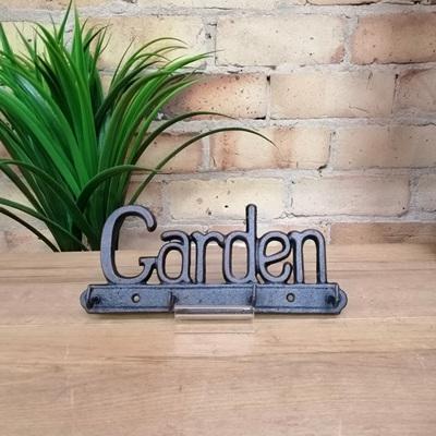 'Garden' Key Hanger - Cast Iron