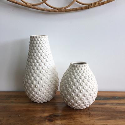 Garner Ceramic Vase - White