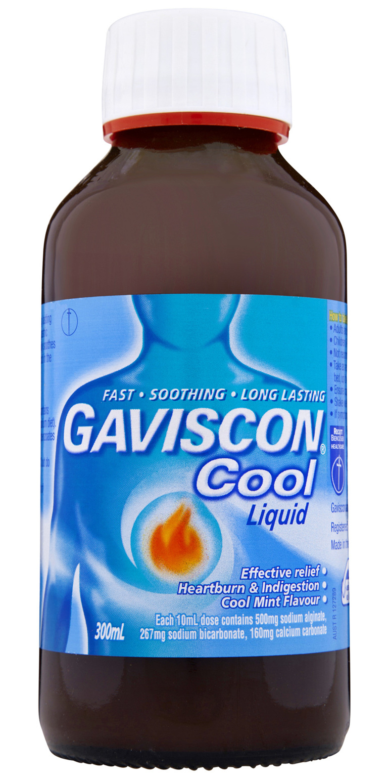 Gaviscon Cool Liquid Heartburn and Indigestion 300ml