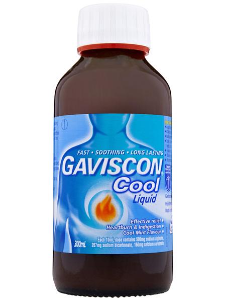 Gaviscon Cool Liquid Heartburn and Indigestion 300ml