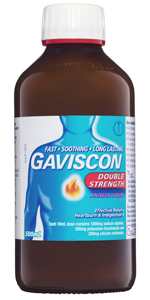 Gaviscon Double Strength Liquid Heartburn & Indigestion Relief 500ml