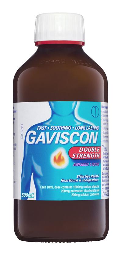 Gaviscon Double Strength Liquid Heartburn & Indigestion Relief 500ml