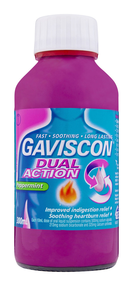 Gaviscon Dual Action Liquid Heartburn & Indigestion Relief 300ml