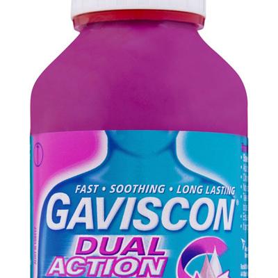 Gaviscon Dual Action Liquid Heartburn & Indigestion Relief 300ml
