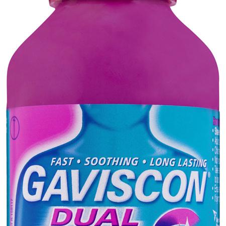 Gaviscon Dual Action Liquid Peppermint Heartburn & Indigestion Relief 300ml