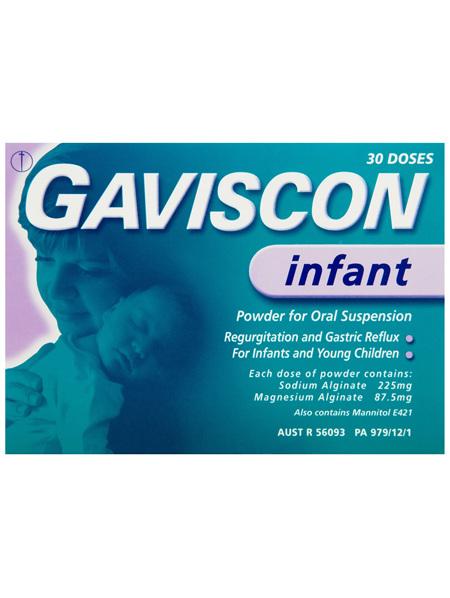 Gaviscon Infant Powder Sachets for Regurgitation and Gastric Reflux 30 Pack