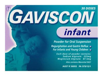 Gaviscon Infant Powder Sachets for Regurgitation and Gastic Reflux 30 Pack