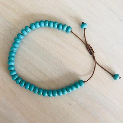 Gemstone Bracelet Turquoise