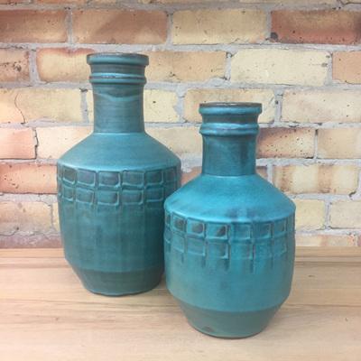 Genie Ceramic Vase - Green